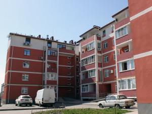 Штукатурка фасадов Днепропетровск. Ж/к Олимпийский, Левобережный-3
